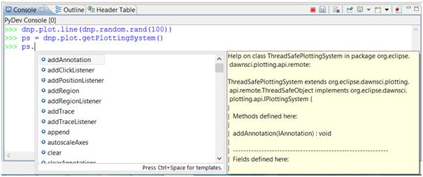 Autocomplete Java In Python usingPy4J